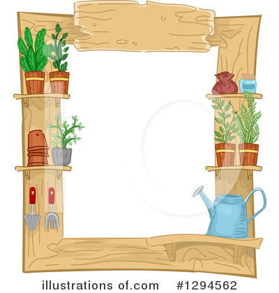 Gardening Clipart #1294562 by BNP Design Studio