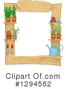 Royalty-Free (RF) Gardening Clipart Illustration #1294562