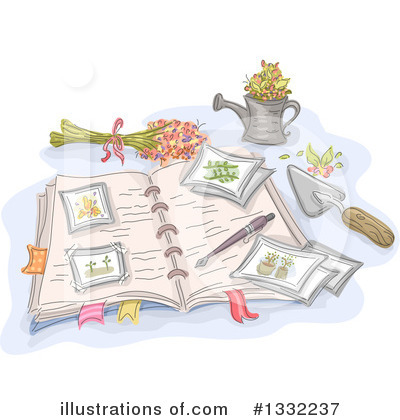 Gardening Clipart #1332237 by BNP Design Studio