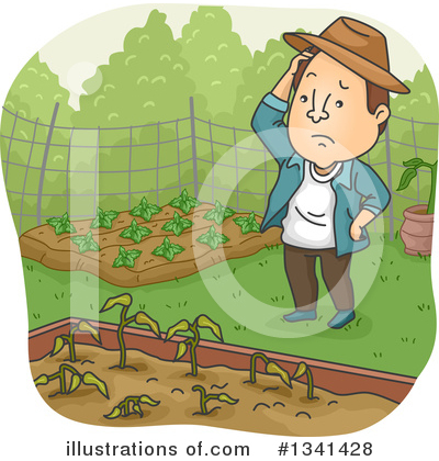 Gardening Clipart #1341428 by BNP Design Studio