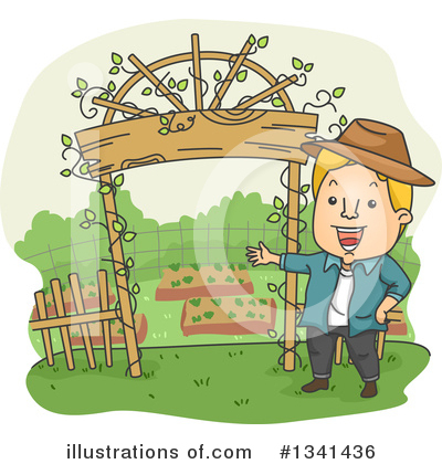 Gardening Clipart #1341436 by BNP Design Studio