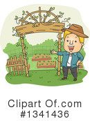 Royalty-Free (RF) Gardening Clipart Illustration #1341436