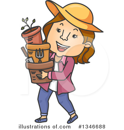 Gardening Clipart #1346688 by BNP Design Studio