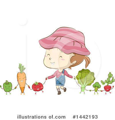 Radish Clipart #1442193 by BNP Design Studio