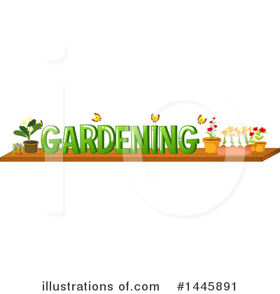 Royalty-Free (RF) Gardening Clipart Illustration by Graphics RF - Stock Sample #1445891