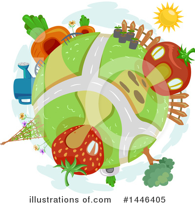 Village Clipart #1446405 by BNP Design Studio