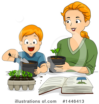 Gardening Clipart #1446413 by BNP Design Studio