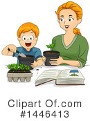 Royalty-Free (RF) Gardening Clipart Illustration #1446413