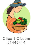 Royalty-Free (RF) Gardening Clipart Illustration #1446414