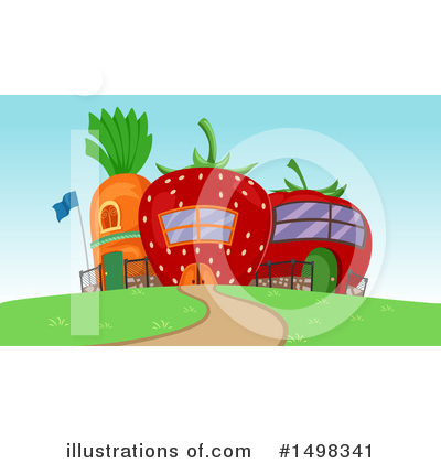 Strawberry Clipart #1498341 by BNP Design Studio