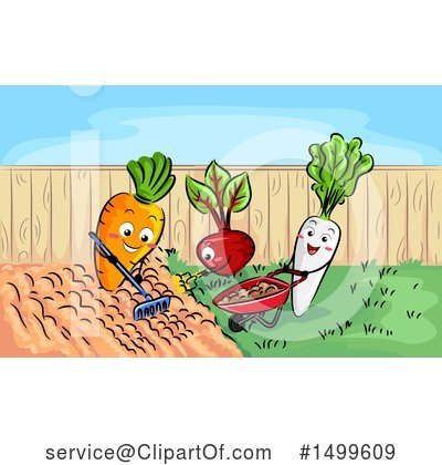 Radish Clipart #1499609 by BNP Design Studio