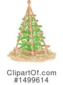 Royalty-Free (RF) Gardening Clipart Illustration #1499614