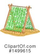 Royalty-Free (RF) Gardening Clipart Illustration #1499615