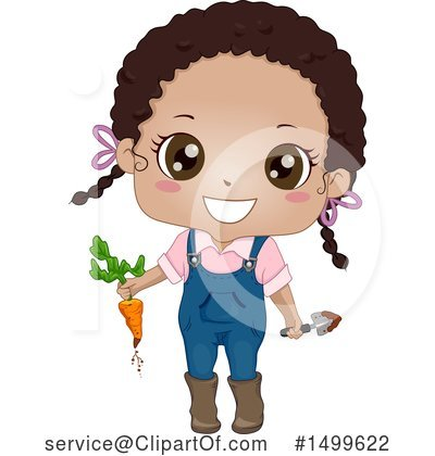 Girl Clipart #1499622 by BNP Design Studio