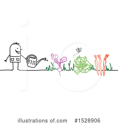 Royalty-Free (RF) Gardening Clipart Illustration by NL shop - Stock Sample #1528906