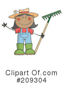 Gardening Clipart #209304 by Hit Toon
