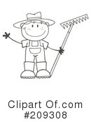 Gardening Clipart #209308 by Hit Toon