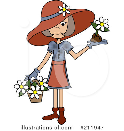 Flowers Clipart #211947 by Pams Clipart
