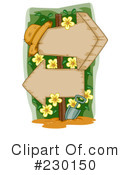 Royalty-Free (RF) Gardening Clipart Illustration #230150
