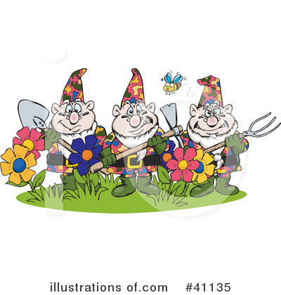 Gnome Clipart #41135 by Dennis Holmes Designs