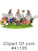 Royalty-Free (RF) Gardening Clipart Illustration #41135