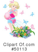 Royalty-Free (RF) gardening Clipart Illustration #50113