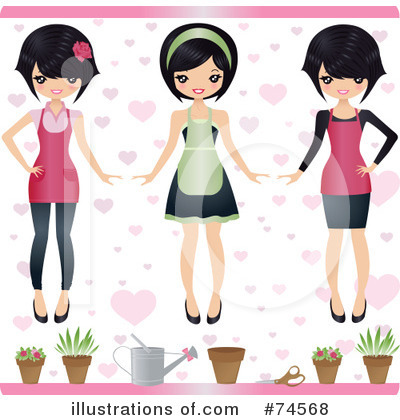 Asian Clipart #74568 by Melisende Vector