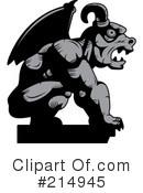 Gargoyle Clipart #1156197 - Illustration by Cory Thoman