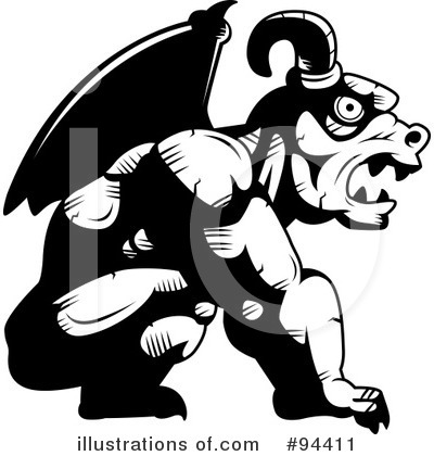 Black And White Clipart #94411 by Cory Thoman