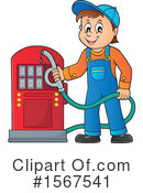 Gas Clipart #1567541 by visekart