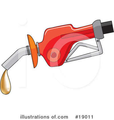 Royalty-Free (RF) Gas Clipart Illustration by Maria Bell - Stock Sample #19011
