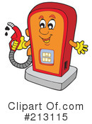 Royalty-Free (RF) Gas Clipart Illustration #213115