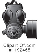 Gas Mask Clipart #1192465 by Lal Perera