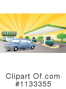 Gas Station Clipart #1133355