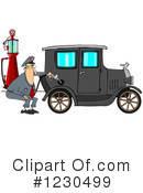 Gas Station Clipart #1230499 by djart