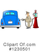 Gas Station Clipart #1230501 by djart