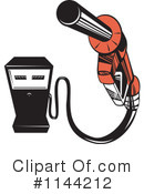 Royalty-Free (RF) Gasoline Clipart Illustration #1144212