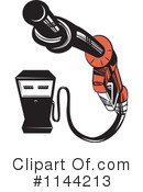 Royalty-Free (RF) Gasoline Clipart Illustration #1144213