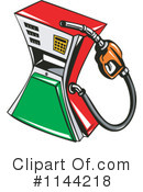 Royalty-Free (RF) Gasoline Clipart Illustration #1144218