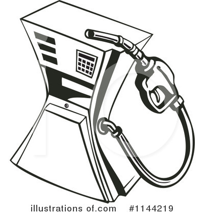 Royalty-Free (RF) Gasoline Clipart Illustration by patrimonio - Stock Sample #1144219