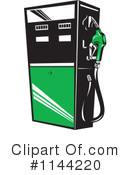 Royalty-Free (RF) Gasoline Clipart Illustration #1144220