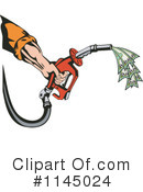 Royalty-Free (RF) Gasoline Clipart Illustration #1145024