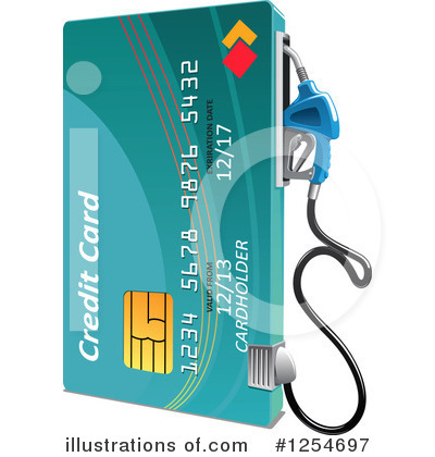 Credit Card Clipart #1254697 by Vector Tradition SM