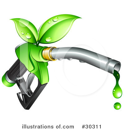 Royalty-Free (RF) Gasoline Clipart Illustration by beboy - Stock Sample #30311