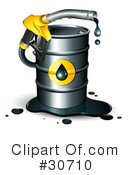 Royalty-Free (RF) gasoline Clipart Illustration #30710