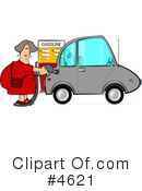 Royalty-Free (RF) Gasoline Clipart Illustration #4621