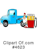 Royalty-Free (RF) Gasoline Clipart Illustration #4623