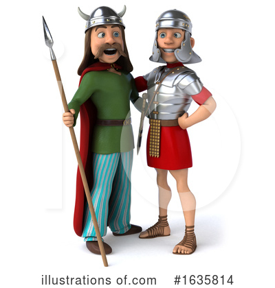 Gaul Man Clipart #1635814 by Julos
