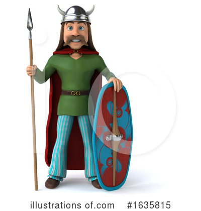 Royalty-Free (RF) Gaul Clipart Illustration by Julos - Stock Sample #1635815