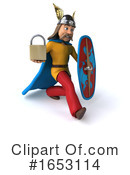 Gaul Man Clipart #1653114 by Julos